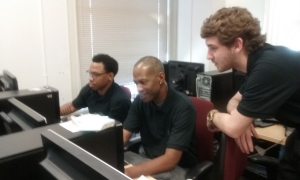 Students working together 2017