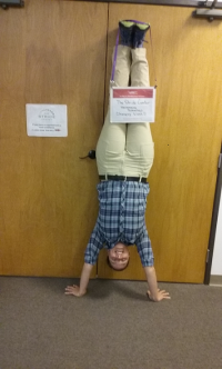 Staff getting the word out about Stride's pathway to careers program